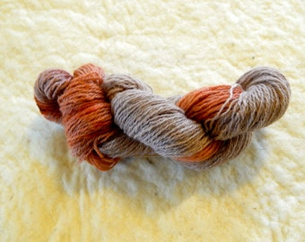 "3 Ply Sport weight yarn ""Red Dirt"""