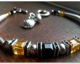 Inspired by the Pittsburgh Pirates bracelet