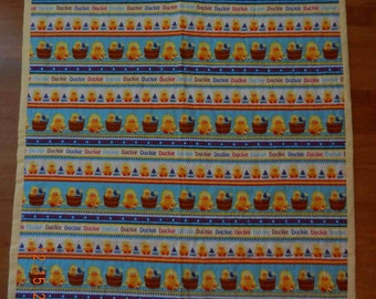 Baby Duckies  Hand Made Quilt - Reduced Price