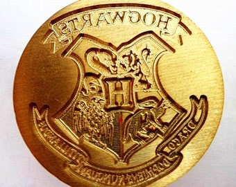 Buy 1 Get 1 Free -  1 pc The hogwarts crest - harry potter -  traditional copper products Handmade retro gifts Wax Seals Stamp(WS05)