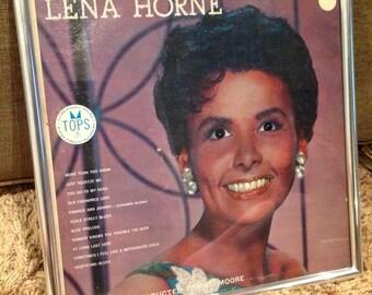Glittered Lena Horne Album Vintage Vinyl