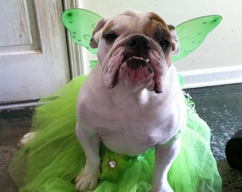 dog halloween costume dog costume dog tinkerbell fairy costume dog clothing halloween - Small Halloween Costumes