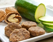 Zucchini-Nut Bites, All-natural dog treats