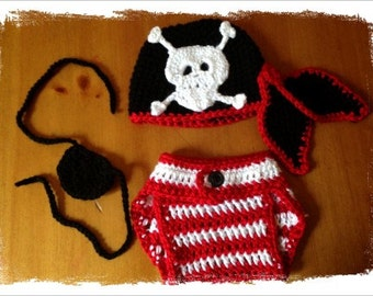 Pirate Baby Outfit