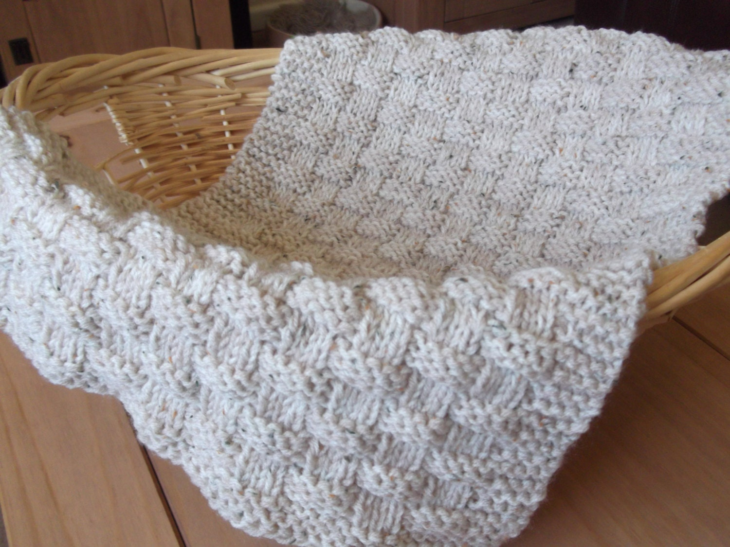 Quick Easy Blanket Knitting Pattern