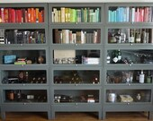 FREE SHIPPING - Vintage Steel Barrister Bookcase
