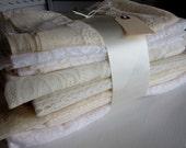 Cream Lace bundle - 10 yds