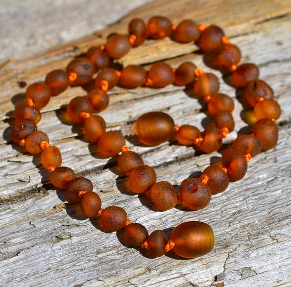 Genuine Baby Amber necklace - Hand made