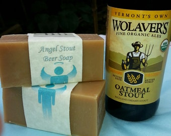 Angel Stout Beer Soap
