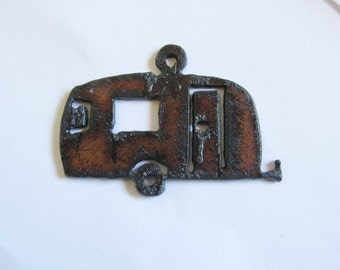 Vintage Camp Trailer Pendant Jewelry #R15