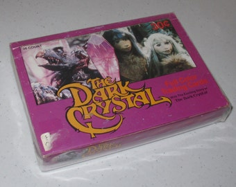 the dark crystal trading card (box only)