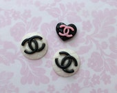 Luxury Chanel Cabochons - Kawaii Decoration