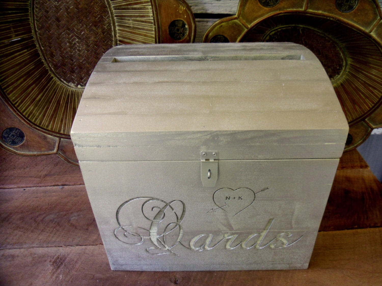 Treasure Chest Wedding Gift Card Box : Wedding Treasure Chest Card Box by farmdust on Etsy