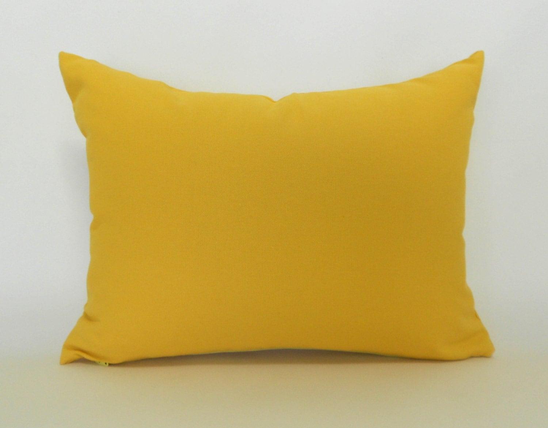 Decorative Pillows Outlet : 60% CLEARANCE SALE Corn Yellow Lumbar Pillow Cover Decorative