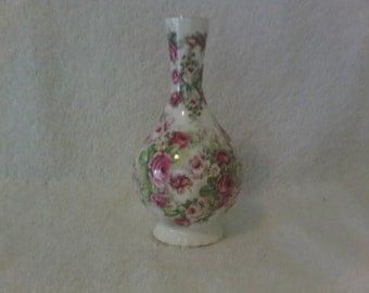 On Sale 20% Off Use Coupon in the Description - Vintage English Porcelain Bud Vase
