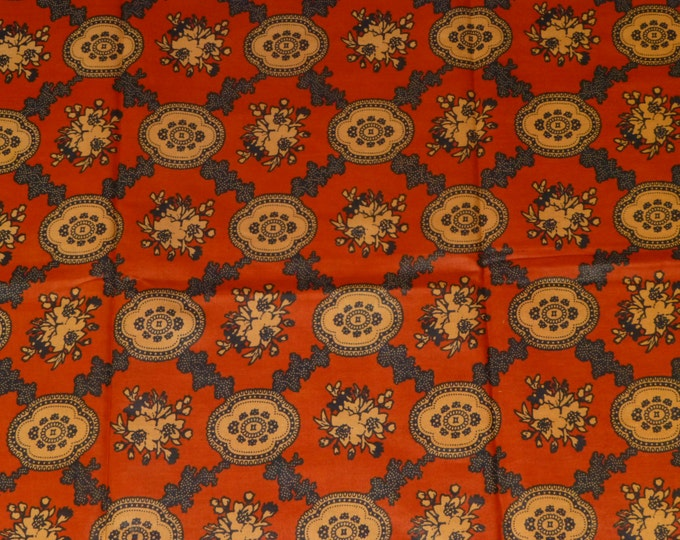 African Fabrics Block Wax Prints African Fabric For Dressmakings/Fabric for Sewing Dresses, Skirts, Sold By Yard