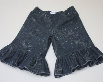 Size 4T.....Blue Jean Knee Shorts......Made and ready to be shipped!! On Sale! Last one!