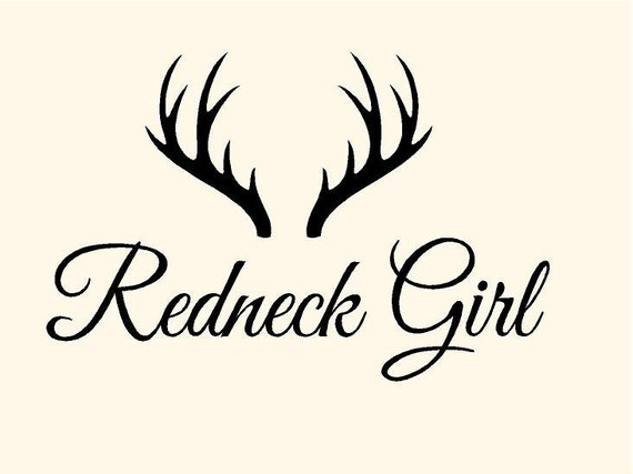 Items Similar To Redneck Girl With Deer Horns 5 1 2 Quot H X 8 Country Sayings Coloring Pages