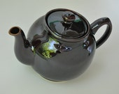 Sadler Teapot  Made in England, Brown Betty Style