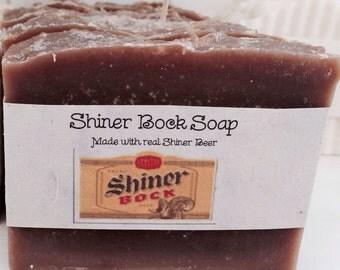 Shiner Bock Soap