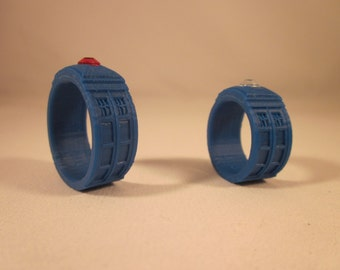Doctor Who TARDIS Band 3D Printed