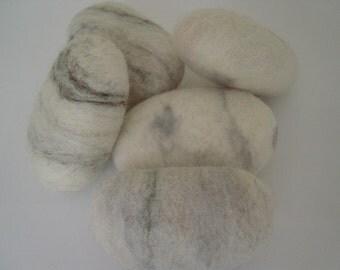 SOAP, Set of 2 Large unique SOAP pebbles, contemporary interior, Gift Idea,