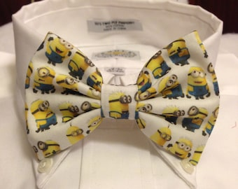 Yellow creatures Bowtie / Bow Tie or Hair Bow