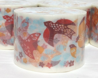 Washi Tape Masking Tape Deco Tape Paper Tape Pattern Birds Price depends on order volume. Buy other items together for BETTER price.