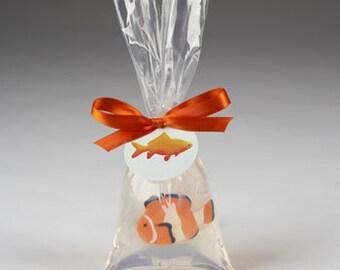 Orange Clownfish in a bag Soap