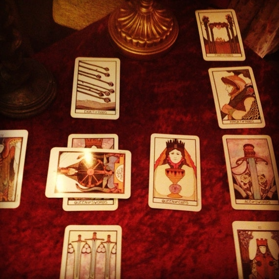 10 Card Celtic Cross Tarot Reading By BroomsticksandLace