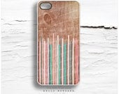 iPhone 6S Case, iPhone 6S Plus Case Wood Print, iPhone 5s Case Geometric, iPhone 6 Case, Geometric Lines iPhone Case, iPhone Cover I118