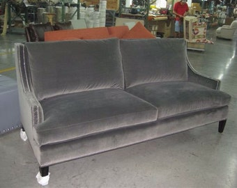 Transitional sofa plush in any fabric