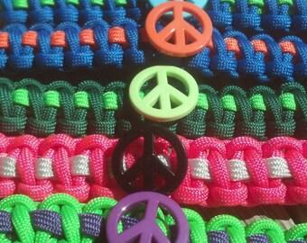 Free U.S. Shipping!! Peace Sign Key Chain