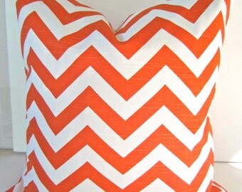 ORANGE THROW PILLOWS Orange Pillow Covers Orange Decorative Pillows Orange White Pillow Cover 14 16 18x18 20 All Sizes Sale. Home and living