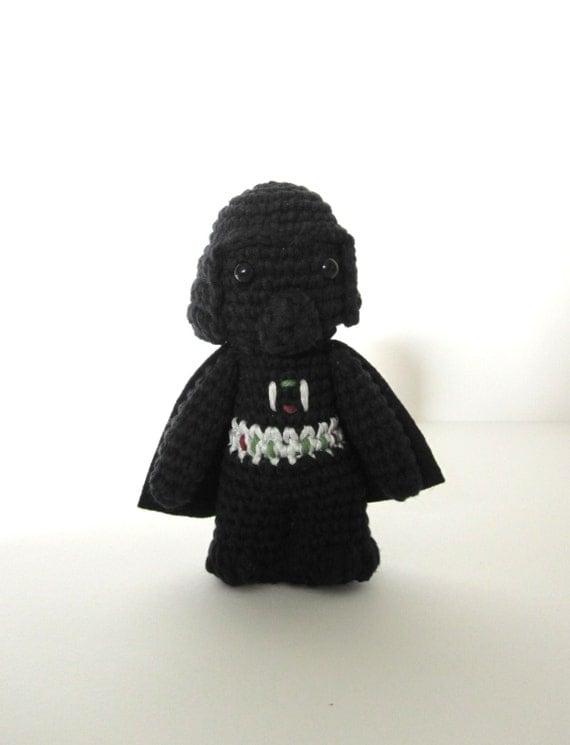 Amigurumi Snake Pattern Free : Darth Vader inspired amigurumi. Star wars crochet by ...