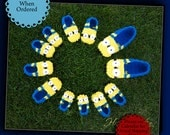 Minion Slippers Inspired by Despicable Me