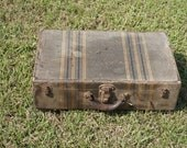 Early 1900s Cardboard Suitcase