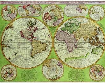 Ancient Arabia World Map