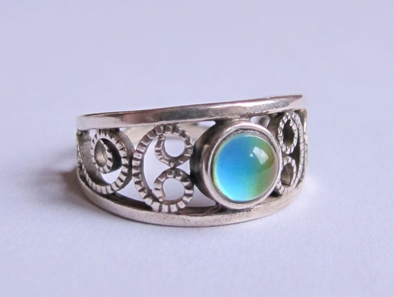 mood ring sterling silver 925 5 mm high quality by