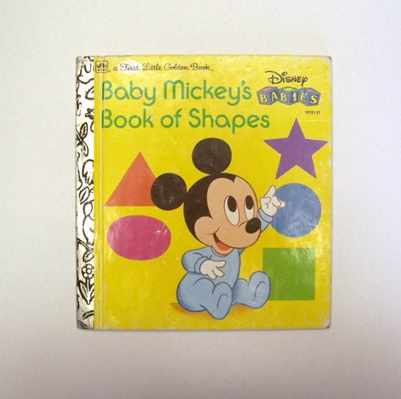 My First Little Golden Book Baby Mickey's by ...