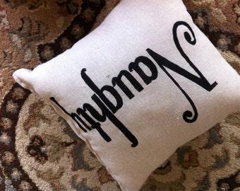 Christmas Naughty or Nice Pillow