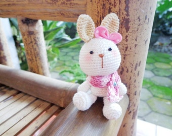 Kawaii Rabbit and Bear Amigurumi PDF Pattern