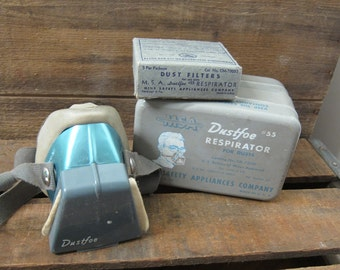 Dustfoe #55 Respirator in Original Tin