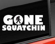 Bigfoot Sasquatch Believe Vinyl Decal Letters