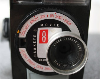 Antique Kodak Hawkeye 8 Movie Camera