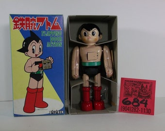 1990's Biliken Astro Boy Wind up M.I.B.