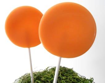 Dulce de Leche Gourmet Lollipops - Pick Your Size - Party Favors - Wedding Favors