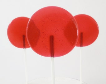 Berry Lime Gourmet Lollipops - Pick Your Size - Party Favors - Wedding Favors - Lollipop Favors - Luxe Lollies