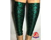 Ariel Little Mermaid inspired Calf Sleeves Running Legs for Race Costumes