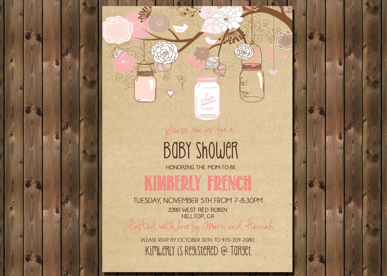 mason jar baby shower invitations marialonghi com